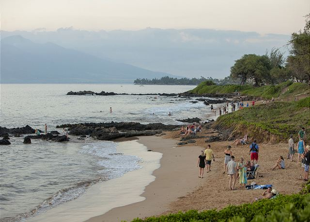 Maui Parkshore is across the street from Kamaole Beach Park III