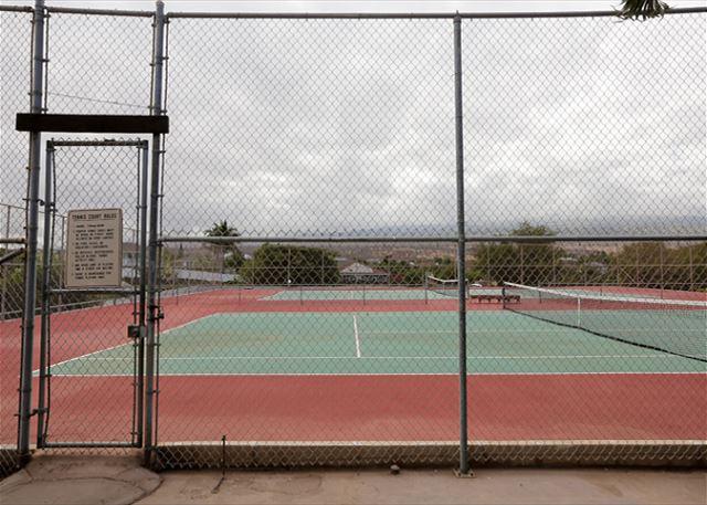 Kihei Alii Kai A-305: Onsite Tennis Courts