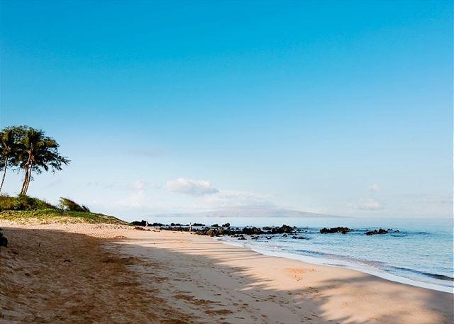 Keawakapu Beach is a short stroll away from Palms at Wailea