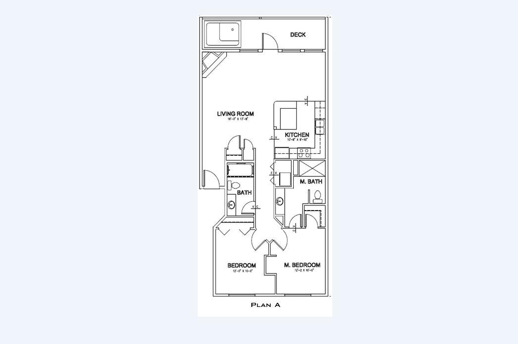 Floor Plan - Ocean Retreat