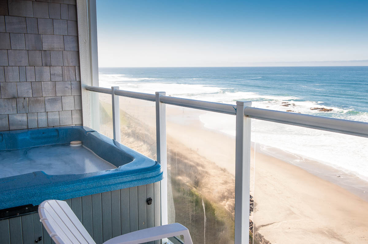 Oceanfront Hot Tub Ious Accommodations