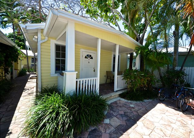 This Historic Free-Standing One Bedroom Cottage Features All of the Comforts of Home