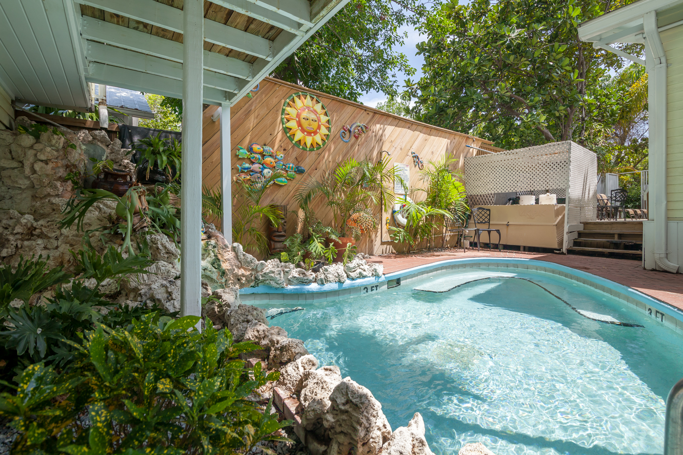 RENT Waterfall 3 Garden House Key West Vacation Rental