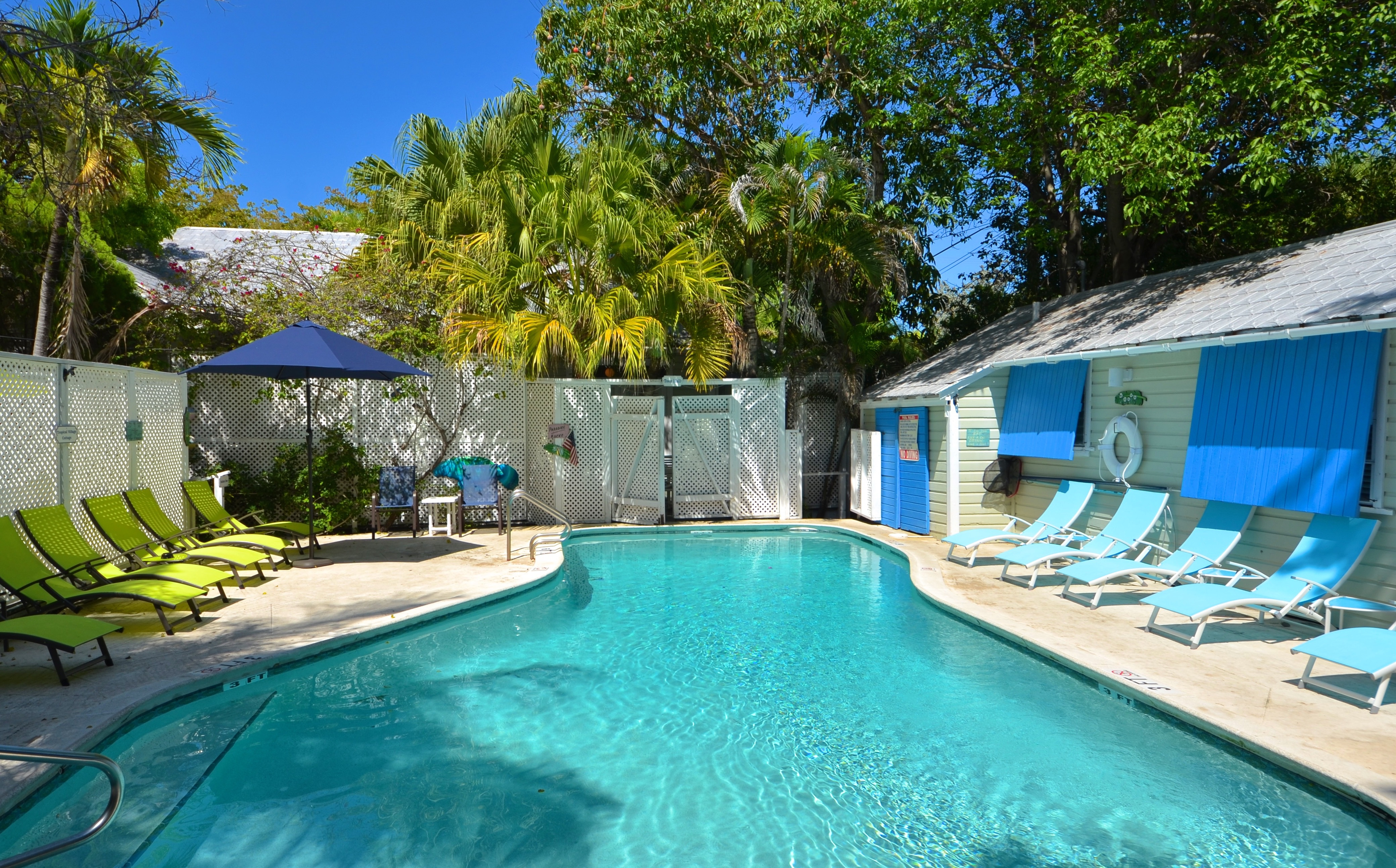 Rent Tropical Village Nightly Group Unit Key West