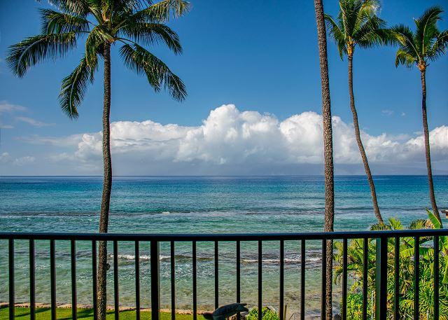 Oceanfront condo view