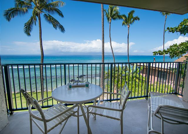 Another wonderful view from the outside lanai