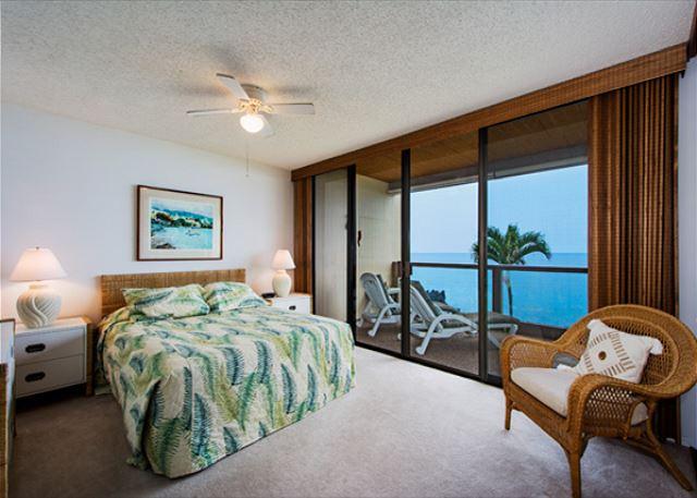 Master bedroom has direct oceanfront views!