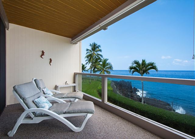 Relax, have a drink, & sit out on your lanai!