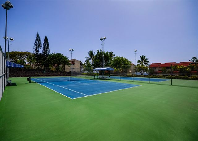 Tennis courts as a great amenity!