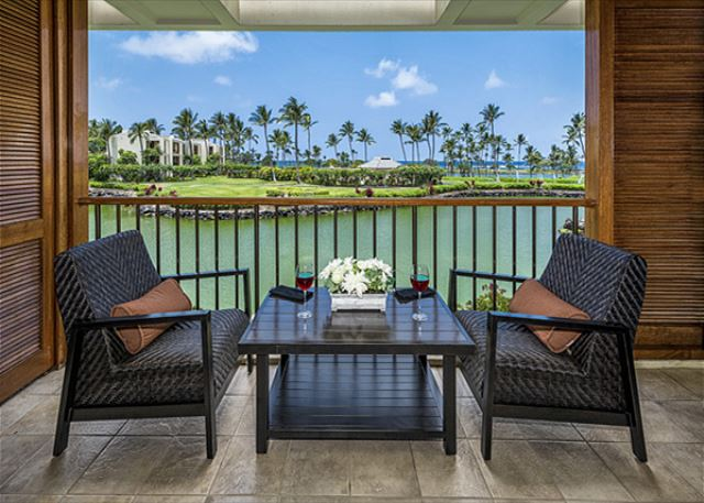 You cant beat this view!! The absolute BEST location at the Mauna Lani Resort!! Direct oceanfront living at its finest!!!