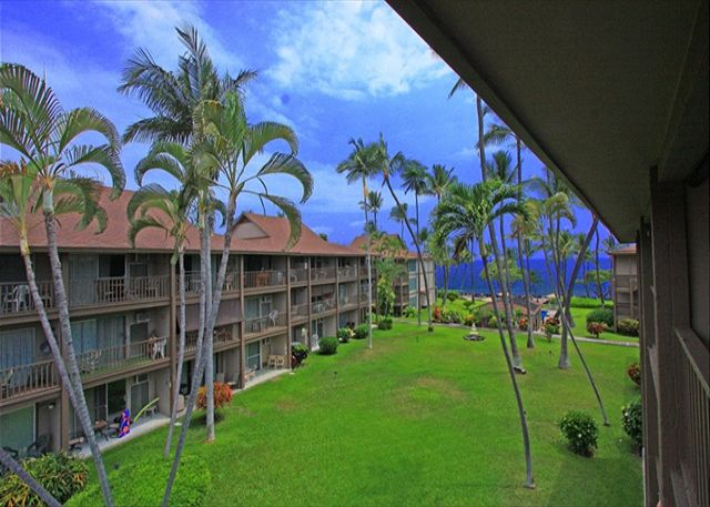 View from your Lanai of B31! Top Floor!
