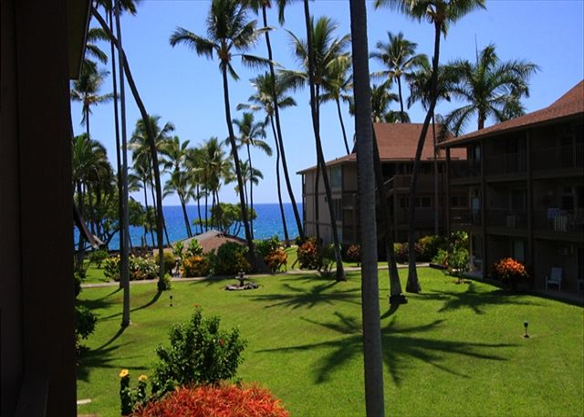 View from the Lanai of Unit#C21 at the Kona Isle!