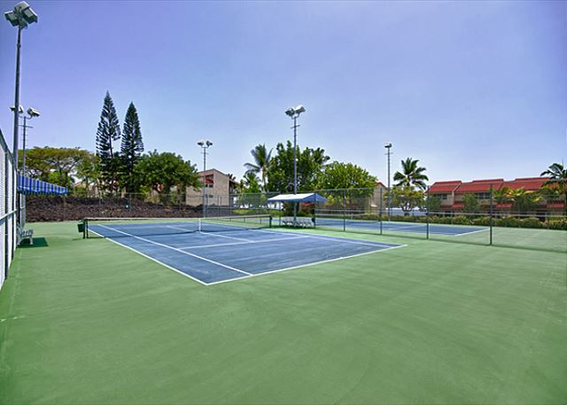 Tennis Courts for guests use!