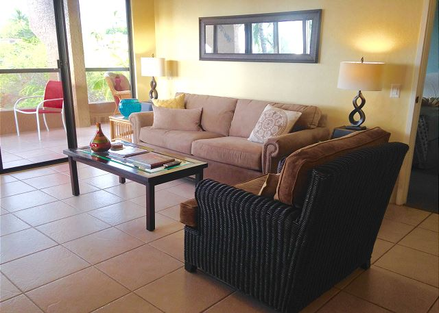 Brand new living room furniture purchased in 2016 for your comfort!