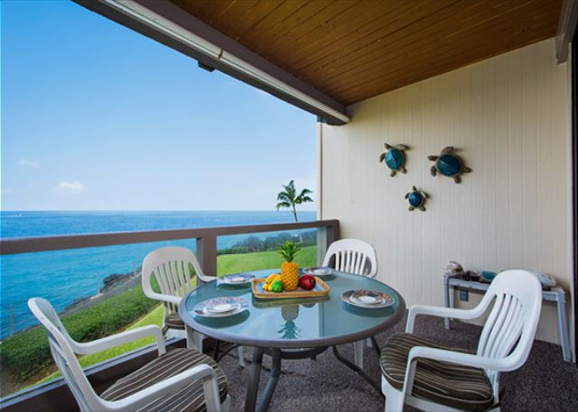 Direct oceanfront living on the 2nd floor.