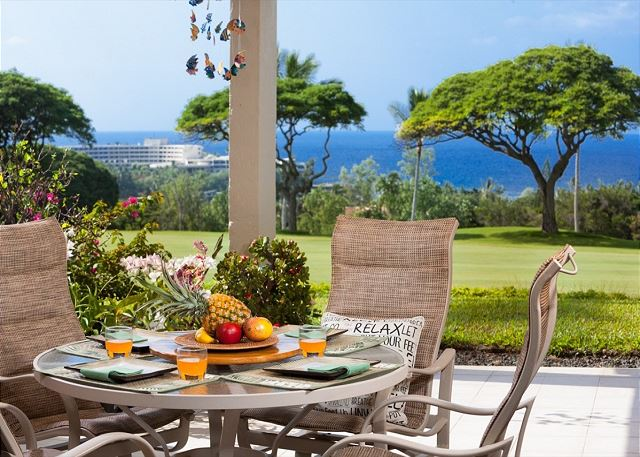 Country Club Villas#115 Ground Floor, Incredible Oceanview, Spacious Lanai,