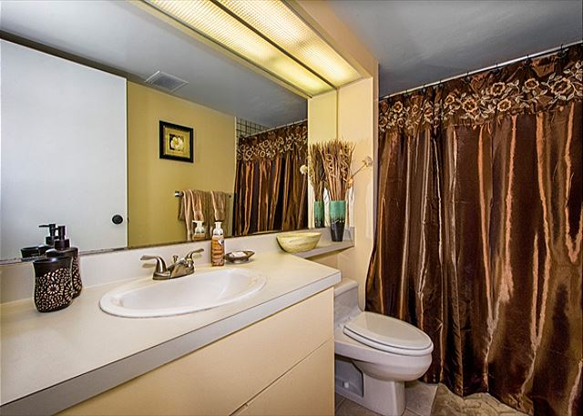 3rd bathroom, off the living room
