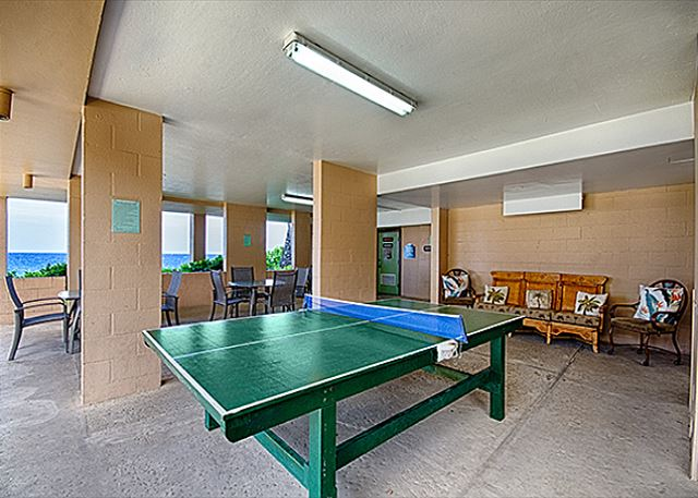 Ping Pong Table available for all guests!