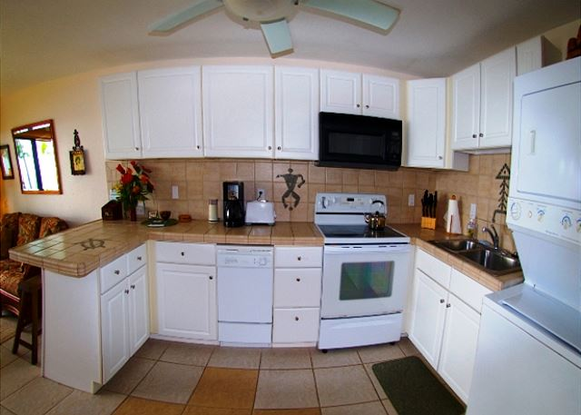 Open, Fully Equipped Kitchen!
