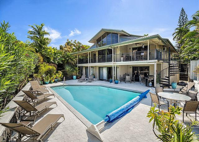 Luxurious Ocean View Home w/Private Saltwater Pool - starting at $400 per day
