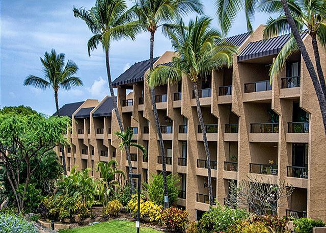 Exterior of Kona Pacific Condominiums