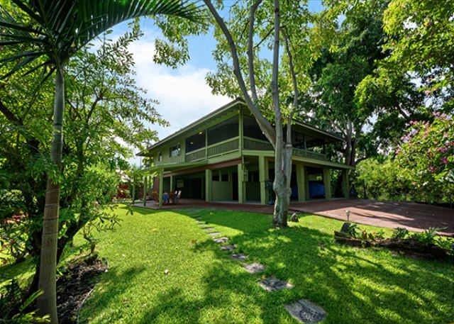 Welcome to Kealakekua Hale! Absolutely amazing Greenery surrounding this very private house!
