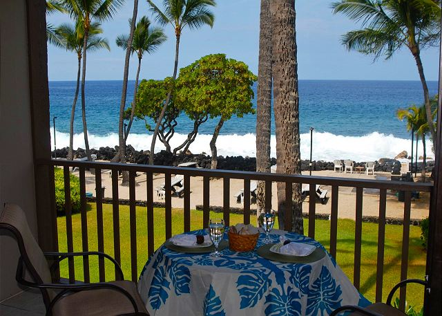 Direct Oceanfront Living at Kona Isle D-21!