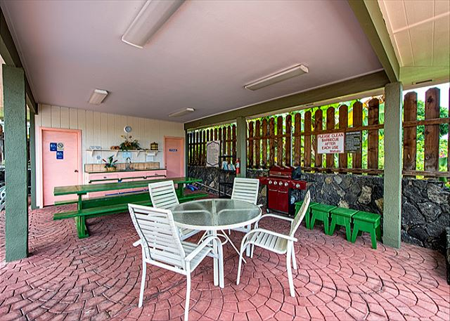 Enjoy the use of the BBQ by the pool area!