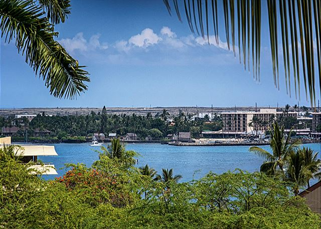 A beautiful ocean view shot from the lanai