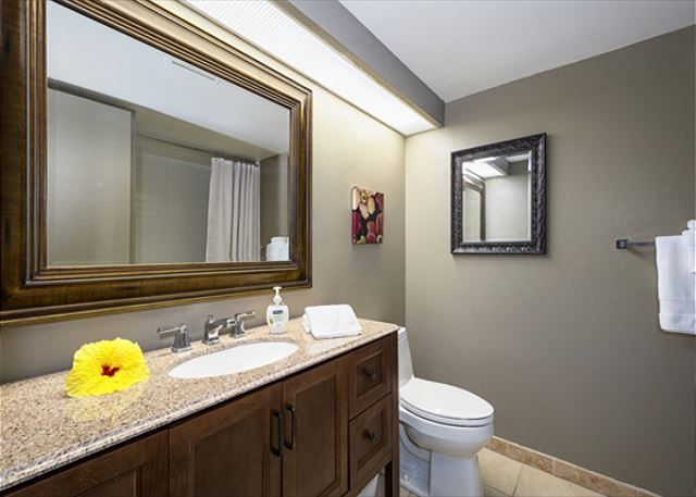 2nd bedrooms private bathroom! Brand new Vanity placed in 2017!