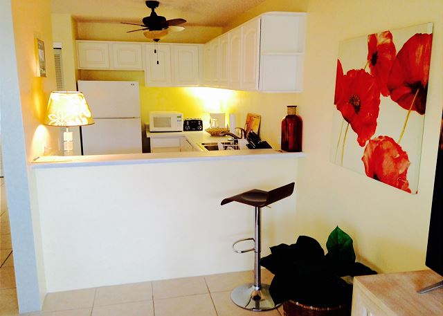 Fully Equipped Kitchen for your enjoyment!