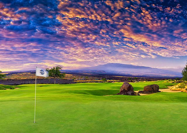 Play some golf at Waikoloa