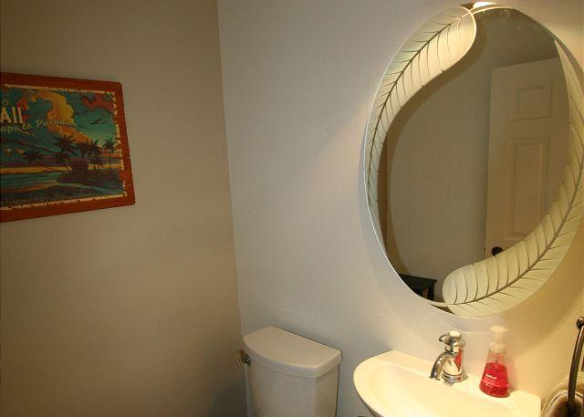 Down stairs bathroom
