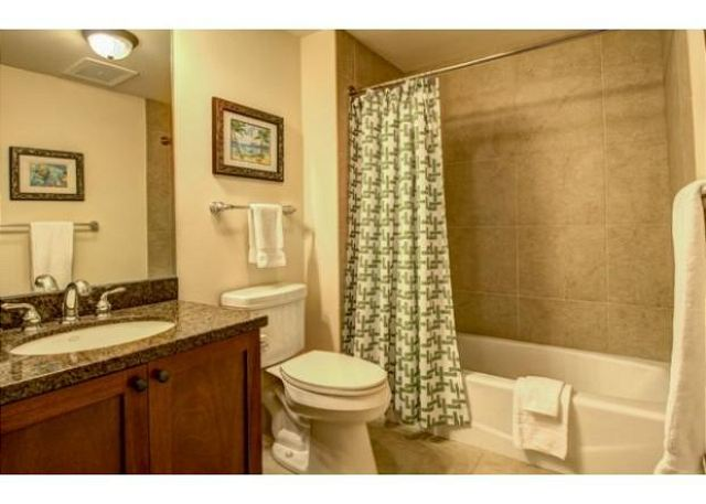 Guest bath with bathtub/shower