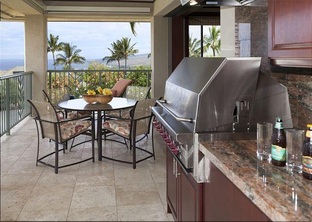 BBQ with wet bar