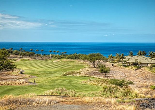 Enjoy the breezes with large sliding doors, ocean and golf fairway views