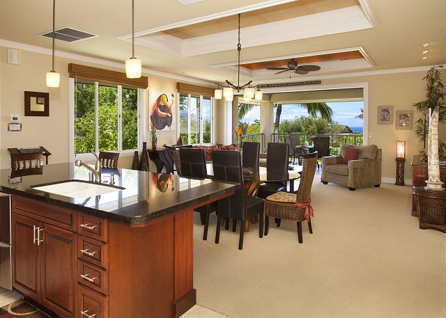 Large open floor plan