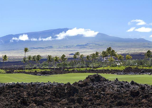 View of Mauna Kea