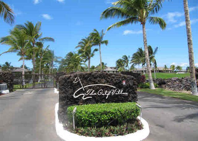 Entrance to The Golf Villas