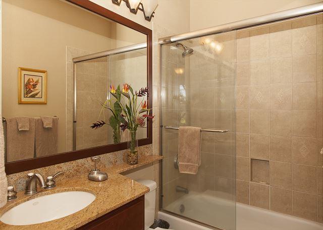 Upstairs guest bath.