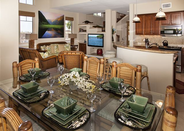 Dining and great room.