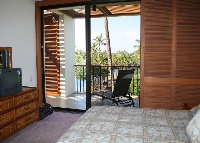 Master Bedroom view through its Lanai