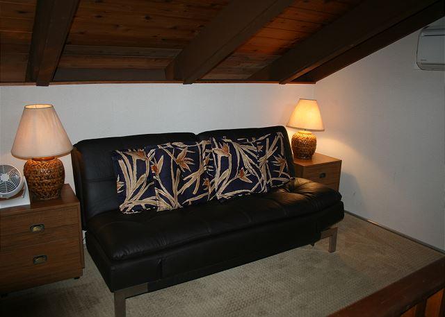 Queen futon in Loft