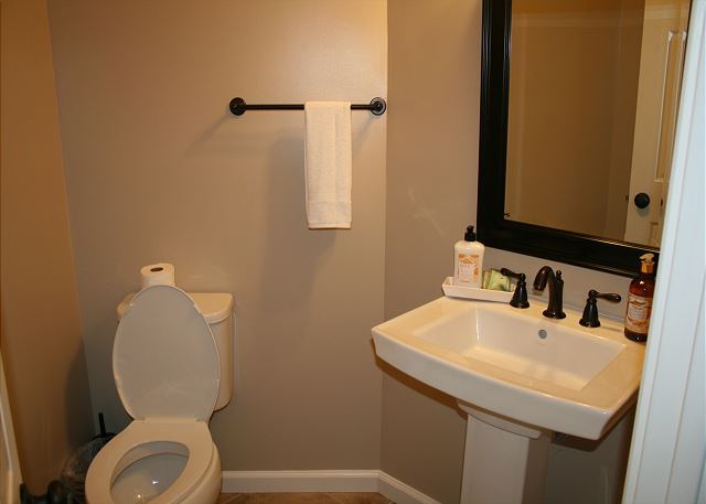 Upstairs Half Bathroom