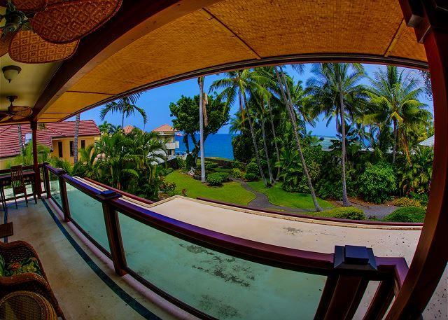 Master Bedroom Lanai view