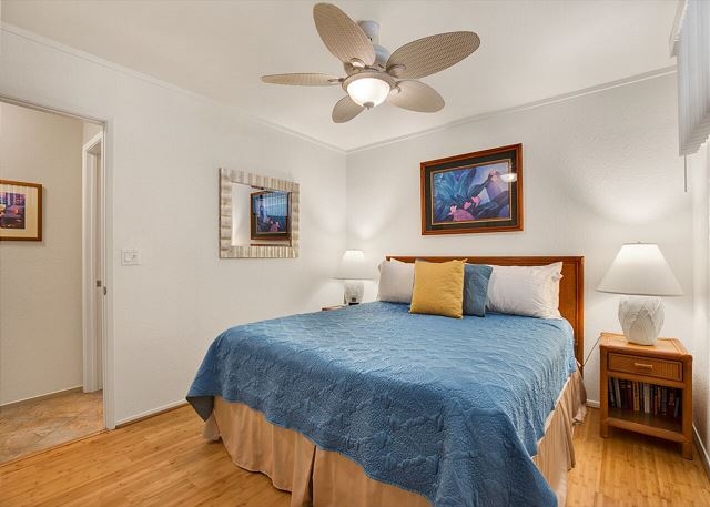 Master Bedroom with new hardwood floors