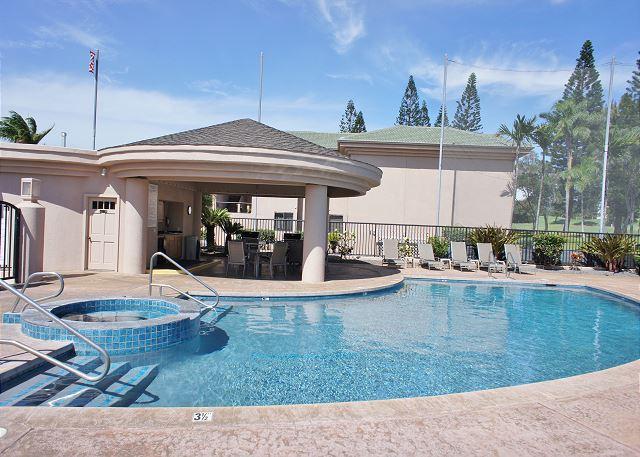 Community Pool and Cabana