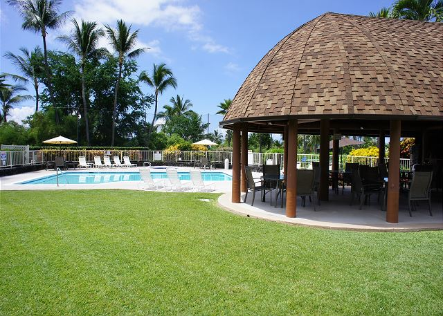 Complex Cabana and Pool