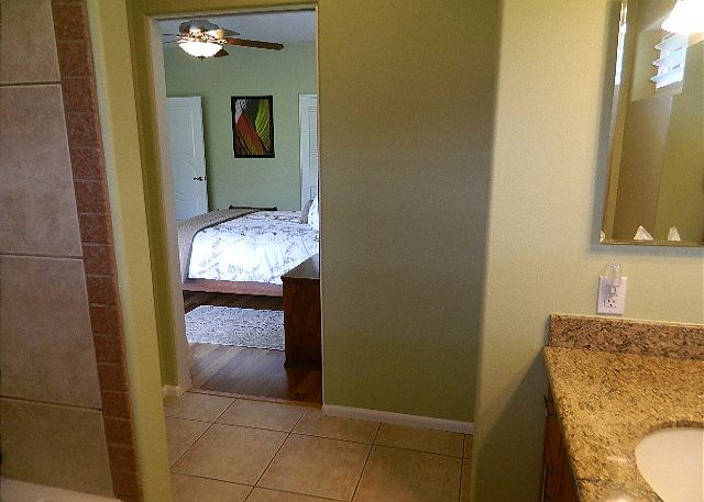 Bathroom off 3rd bedroom