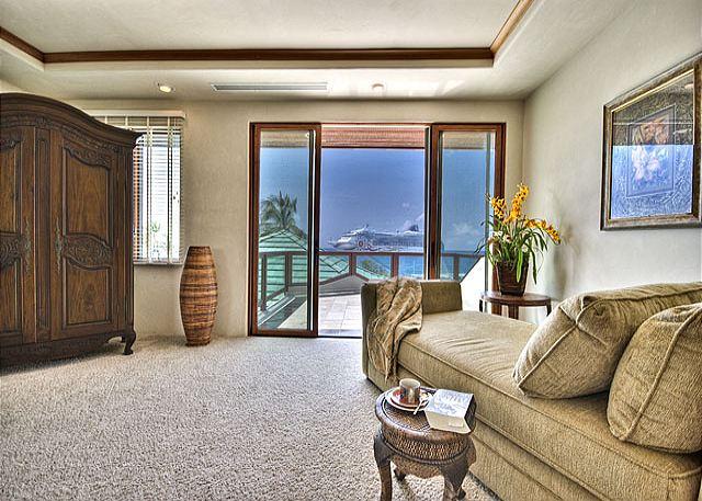 Master Bedroom Ocean Views
